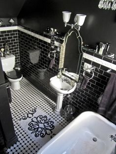 "Tabatha's ""Ruby Noir Vintage"" Room"