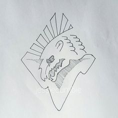 Polar bear iceberg doodle  Art by Jessie Cumbie  @jessiecumbie #sketch #sketchbook #drawing #artinprogress #artwork #art #ihateart #fuckproportions #polarbear #iceberg #skull #globalwarming #vulnerable #conservation #animal #animals