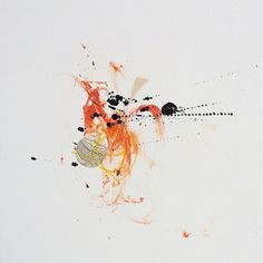 "Artist: Bea Mahan; Monotype 2013 Printmaking ""Untitled"""