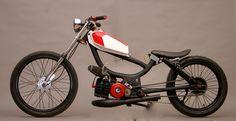 Moped.   una harley a dieta