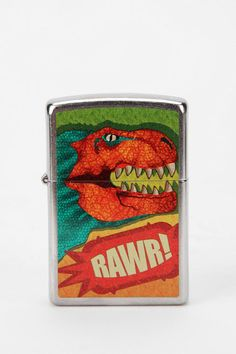 The iconic metal lighter we all know and love. RAWR! #zippo #urbanoutfitters