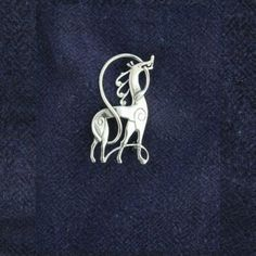 Celtic horse pin