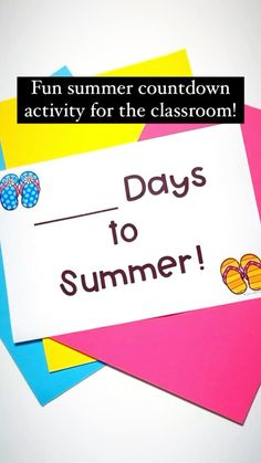 ciarasclassroom on Instagram: My class are so excited to get started with our 'Countdown to Summer' jar. 😃 Each day we will pull out a coloured piece of paper from our… Each Day, Activity Days, Get Started, Celebrations, Classroom, How To Get, Jar, Holidays, Activities