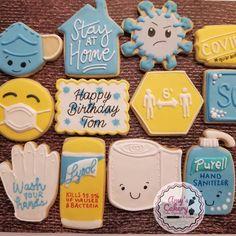13th Birthday Parties, 12th Birthday, First Birthday Cakes, Birthday Cookies, Diy Birthday, Biscuit Decoration, Dessert Decoration, Iced Cookies, Sugar Cookies