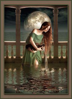 Goddess Of The Moon | Moon Goddess by *PT-paperdreamer on deviantART