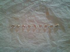 """June Alexandrite Infant birthstone bracelet 5"""""""