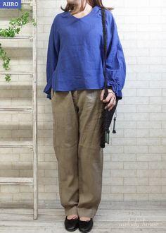 MB marque de brodeuses KIBINOKOROMO 60ラミー*ブラウス(全2色)