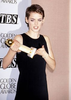 Winona Ryder at the 51st Annual Golden Globe Awards, January 1994