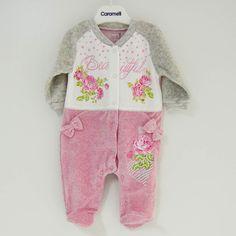 Caramell 2983 Bebek Tulum Gri | İlke Bebe
