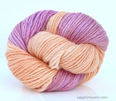 - Single construction - Soft and smooth - Beautiful stitch definition - Lovely sheen - 60% Merino/40% Silk - Heavy Worsted Single Construction - 150 yds/137 m - 3 oz/85 gr - Recommended Needle: US 7-9