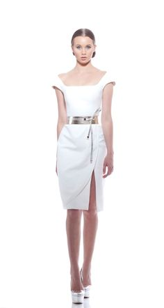 Georges Chakra white dress (Taylor Swift Blank Space dress)