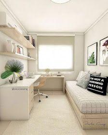 Más Chicos: 10 Dormitorios juveniles con escritorios para chicas Casa Patio, Kids Room Furniture, Ideas Geniales, Boy Room, Office Desk, Corner Desk, Bench, Storage, House