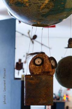 Christian Voltz - la fabric - Grosse exposition sur le thème du jouet