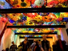 Exhibition Hall | Chihuly Garden & Glass | Seattle