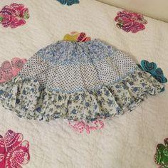 Little Girl's mini boden skirt. 4-5years runs big Gently used. Mini Boden Boden Skirts Midi