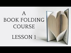 Folded Book Art - Detail - YouTube