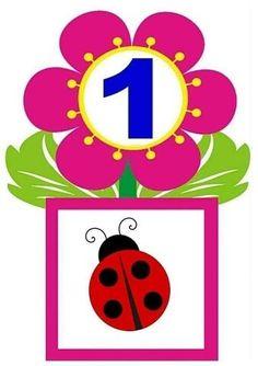 Învățând să număr cu soarele   OK.RU Preschool Math, Kindergarten, Classroom Labels, School Posters, Numeracy, Flower Boxes, Worksheets, Diy And Crafts, Crafty