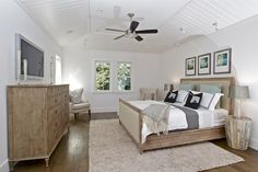 Contemporary Farmhouse - traditional - bedroom - san francisco - KCS, Inc.