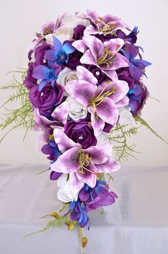 Artificial Wedding Bouquet Flowers Gallery