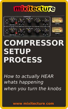 Learn to HEAR what the compressor is doing when you turn the knobs, so you can dial it in perfectly on Ableton Glue compressor, sidechain compression, Peak Limiter, and Ableton Limiter plugs.