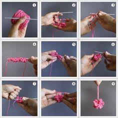 crochet a pom-pom (the 9 easysteps) - i love pom-poms blog - i love pom-poms