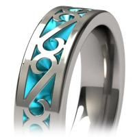 Phase Colored - Wedding Bands   Titanium Rings, Titanium Wedding Bands, Diamond Engagement Rings