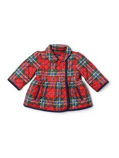 ralph lauren plaid coat - $19