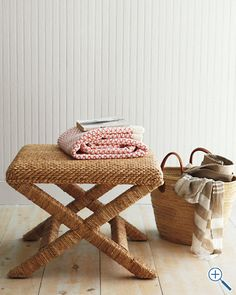 seagrass x bench