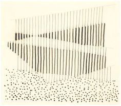 Joseph Albers 1944 Studied for Fenced ink and pencil on paper Abstract Drawings, Abstract Art, Textures Patterns, Print Patterns, Bauhaus Textiles, Joseph Albers, Anni Albers, Bauhaus Design, Shape Art