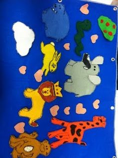 The Big-Hearted Elephant #storytime #flannelboard #flannelfriday