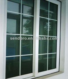 UPVC Window Grill Design Factory in Guangzhou