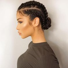 Boxer Braids Tutorial: 10 Steps To A Perfect Boxer Braid braids Frisuren Boxer Braids Tutorial, Curly Hair Styles, Natural Hair Styles, Simple Natural Hairstyles, Pretty Braids, Simple Braids, Pelo Afro, Goddess Braids, Braid Styles