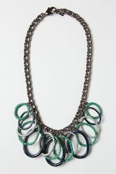 Silver Rung Necklace from anthropologie
