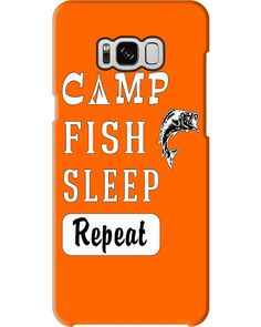 Camp Fish Sleep Repeat Men Funny Gift Shirt - Burnt Orange #feuerwehr #drink #gardening fishing fry, fishing lures, fly fishing, back to school, aesthetic wallpaper, y2k fashion