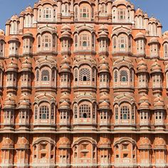 Hawa Mahal, Jaipur ❤️ The 'Palace of Breeze' 🗝 The palace has 953 windows where the women in the royal family could watch the royal proceedings without being seen ✨ Edward Hall, Hammer And Chisel, Pink Palace, Golden Triangle, Pink Sand, India Travel, Jaipur, The Past, Louvre