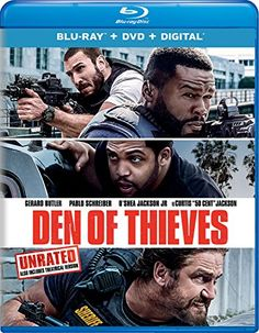 Den of Thieves [Blu-ray] #Thieves #[Blu #ray]