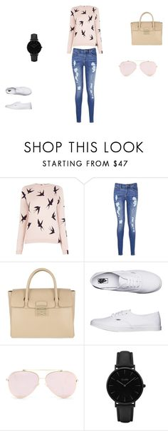 """""""Bez naslova #1"""" by aidaaa1992 ❤ liked on Polyvore featuring Oasis, Tommy Hilfiger, Furla, Vans and CLUSE"""