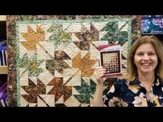 Floating Point North Star | New Pattern Designed by Donna Jordan - YouTube