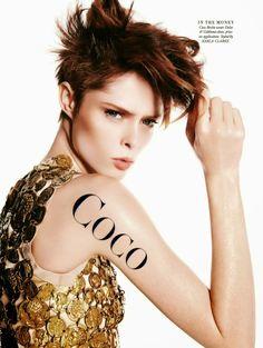 """""""Coco Pops"""" Coco Rocha by Todd Barry for Harper's Bazaar Australia April 2014"""