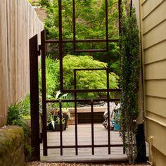 Contemporary eclectic Japanese inspired garden