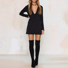 Office pocket dress