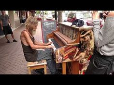 Homeless Man Plays Piano Beautifully (Sarasota, FL) (ORIGINAL) - YouTube