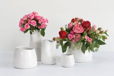 Accent Decor offers a wide selection of home décor, ceramics, glass vases and more for floral arrangements, events & weddings. Clear Glass Vases, Glass Votive, Simple Centerpieces, Ceramic Vase, White Ceramics, Accent Decor, Floral Arrangements, Bloom, Flowers