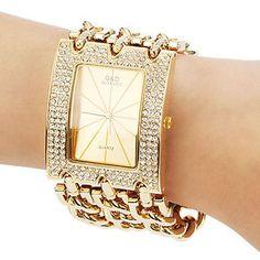 GLE&VDO 2016 Popular Horloges Vrouwen Bracelet Watch Quartz Men Women Unisex Dress Wristwatch Free Ship