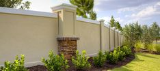 precast concrete fence walls by permacast in sarasota florida