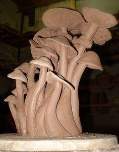 Hongos en proceso  by Marian C.