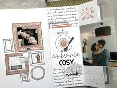 Mini Home sweet Home - Le Scrap de Sophie Mini Album Scrap, Mini Albums Scrapbook, Tampons, Big Shot, Mini Books, Minis, Stuff To Do, Sweet Home, Gallery Wall