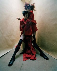 Egon Schiele-inspired shoot by Tim Walker