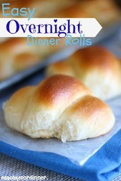 Easy Overnight Dinner Rolls