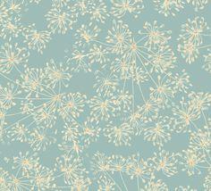 Dill Seedheads - Sea Breeze fabricrehab.co.uk